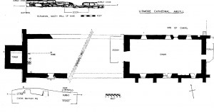 Archaeological plan from Brown Duncan 1957