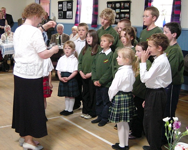 The Primary school Choir
