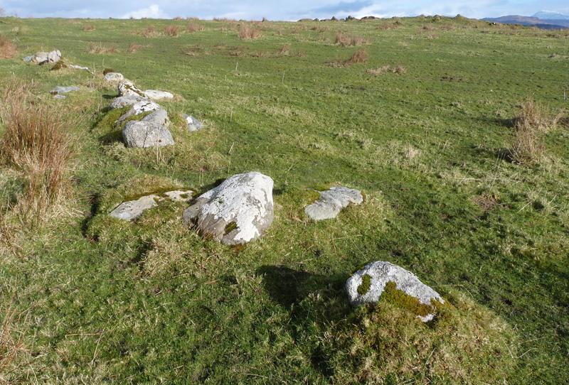 Granite dyke