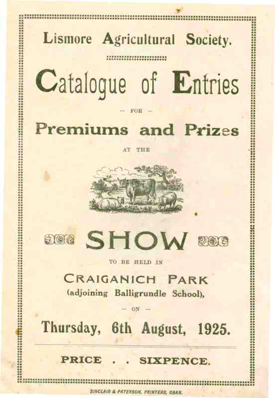 Show Catalogue