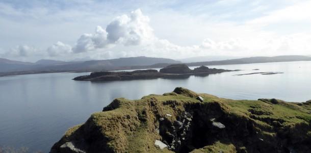 View Across Broch to Eilean Dubh