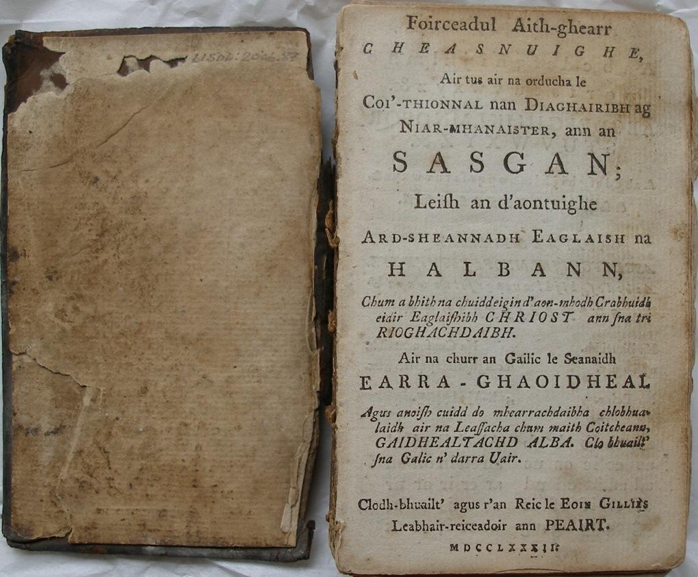 Gaelic Psalter