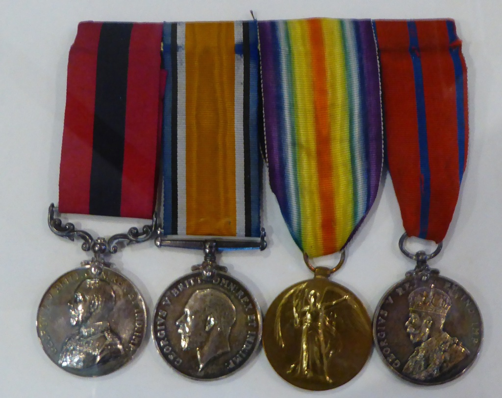 Neil Thomson's Medals: DCM, British War, Victory and Police