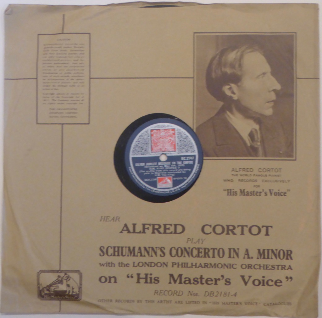 One of the 1935 records in its original cover